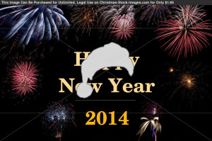 Happy New Year 2014 Free Wallpaper HD Download