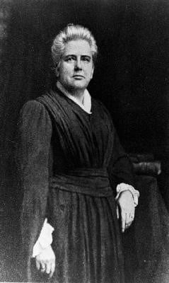 ANNA HOWARD SHAW SUFFRAGIST LEADER,ANNA HOWARD SHAW MAGAZINE ARTICLE ...
