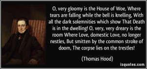 Hood Quotes Tumblr More thomas hood quotes