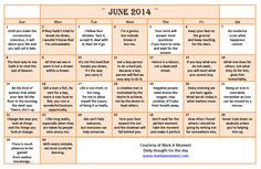 ... Monthly Quotes Calendar, Calendar Quotes 2014,calendar with quotes