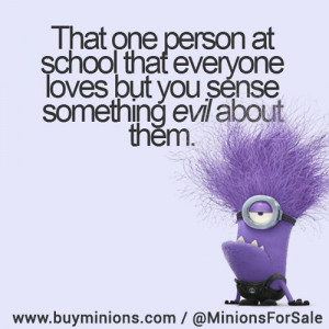 That one person… #evil