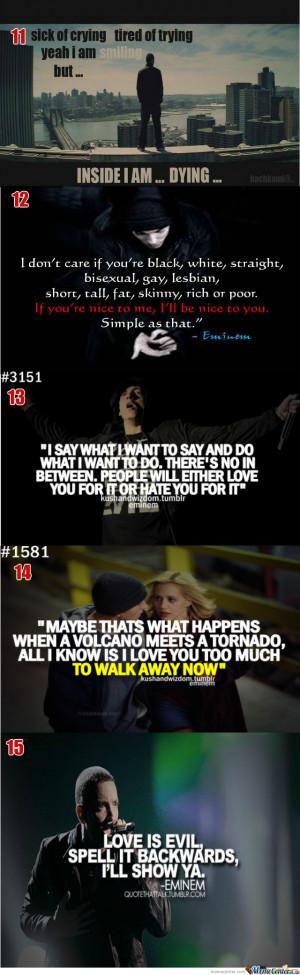 Famous Eminem Quotes #3