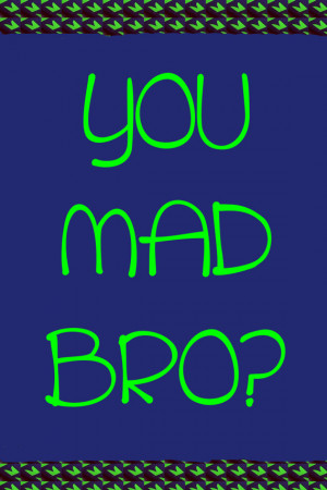 You Mad Bro? Richard Sherman Quote Poster 8X12 Seattle Seahawks ...