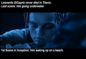 ... pictures leonardo dicaprio titanic inception Angry Cat Meme Titanic