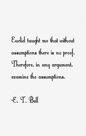 Bell Quotes & Sayings