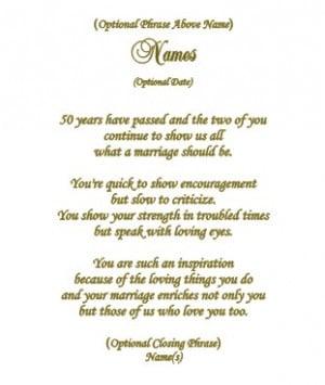 Anniversary Poem -