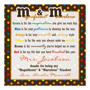 National teachers appreciation day poems