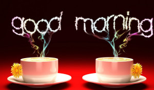 ... Good morning, God,' and the other is to say, 'Good God, morning