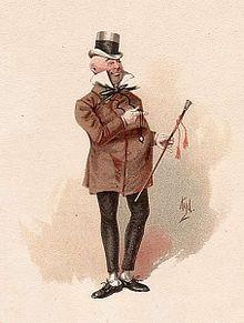 Mr Micawber by 'Kyd' c.1890