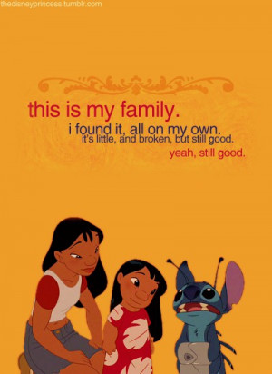 Lilo & Stitch Quotes & Sayings