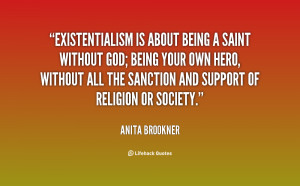 Existentialism About...