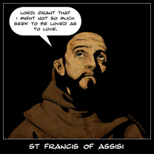 St Francis of Assisi on Love