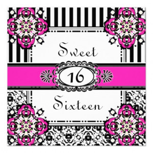Related Pictures sweet sixteen invitation quotes