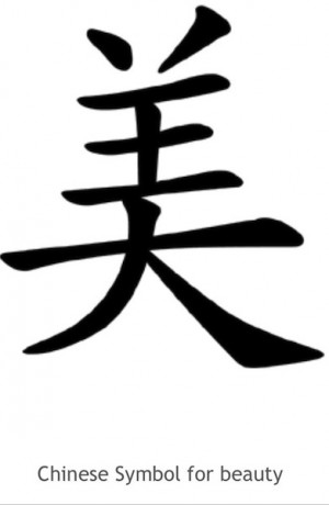 Mandarin Symbols I M Planning On Getting A Tattoo Of Pinterest Picture