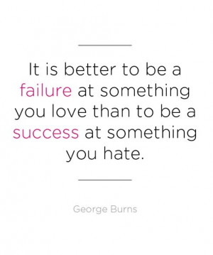 Inspirational Quotes for Graduates - George Burns - mom.me