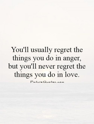 love without regrets quotes in relationship