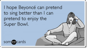 Super Bowl Humor Beyonce