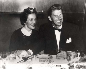 ... Nancy Regan, Nancy Reagan, Storkclub, Presidents Ronald, Ronald Reagan