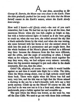 Italo Calvino #Cosmicomics #chapter 1 #page #book #quote