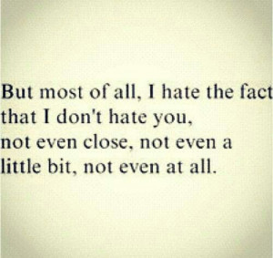 10 things I hate about you. :)