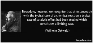 that simultaneously with the typical case of a chemical reaction ...