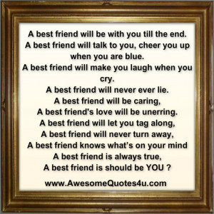 awesomequotes4u.comAwesome Quotes: A best friend