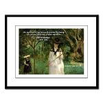 Berthe Morisot: Impressionist Art Painting 'Butterfly Hunt' & Quote on ...