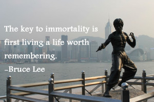 Bruce Lee Is Immortal