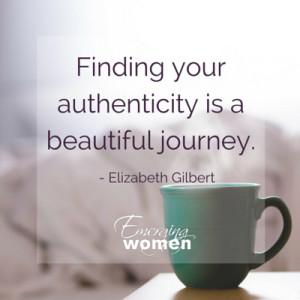 Elizabeth Gilbert - Creating Big Magic, Part 2 - Emerging Women