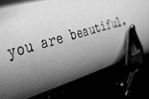 beautiful, black and white, quote, you