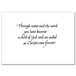 Bible Quotes For Christening Cards ~ On Your Christening - Christening ...