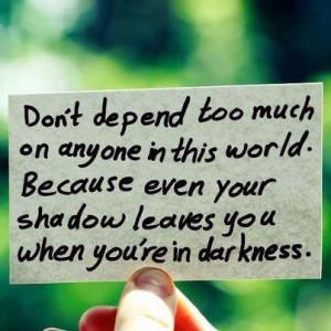 Let your inner light shine through