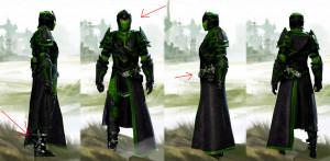 Thanks for the ninja armour