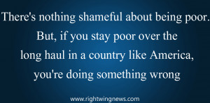 There's Nothing Shameful About Being Poor (Pic/Quote)