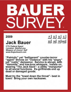 24 Season 8: Jack Bauer- This Is Your ZAGAT Guide