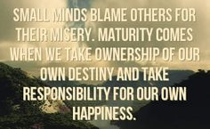 Don't Blame Others Quotes | You can get your favourite quotes as a ...