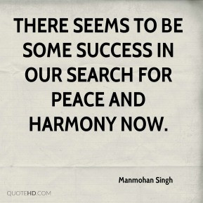 Peace, unity and harmony!