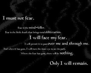 25 Exclusive Fear Quotes