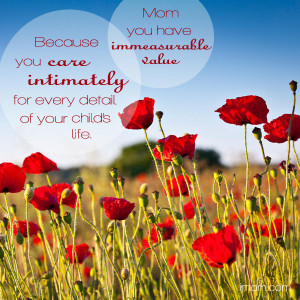 You have immeasurable value as a mom. Enjoy and share iMOM's ...