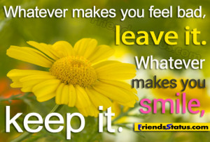 whatever makes you smile beautiful smile quotes with image