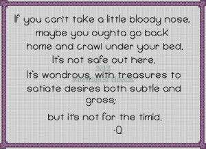 star trek inspirational quote Q cross stitch pattern