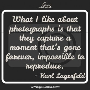 photo quote - capture a moment
