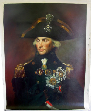 of lord nelson by lemuel francis abbot a copy of lord nelson ...