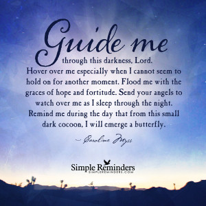 Guide me through this darkness by Caroline Myss