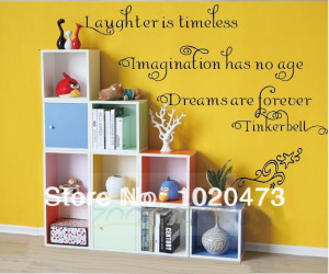 Star And Moon Wall Sticker For Kids Baby Room Courage Quotes ...