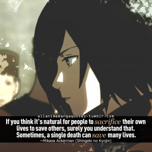 Thoughful Attack on Titan quotes