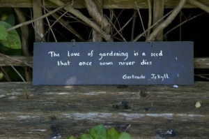 quote from Gertrude Jekyll
