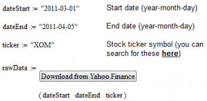 yahoo finance using some vbscript and imports historical stock quotes ...
