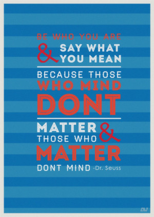 Inspirational Quote Poster-Dr.Seuss – FREE