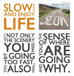 Slow Down in your Life ,Stories to increase awareness, motivational ...